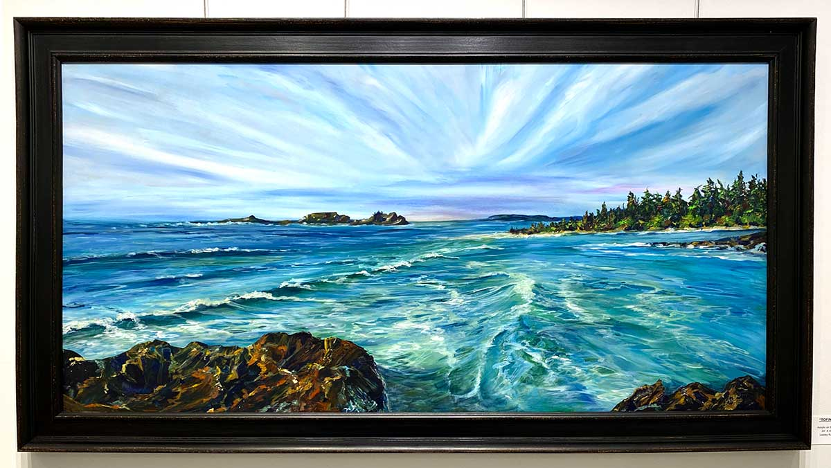 Lesley Kuhn - Seascape painting